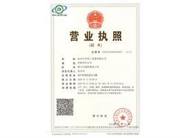 中环化工营业执照