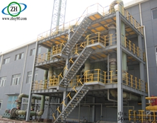 氟化氢与氮氧化物处理装置设计方案中最基本的设计参数及流程图
