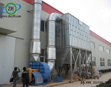湖南长沙的木屑粉尘废气处理装置工程案例分析!