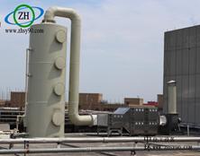 浙江海宁喷漆废气处理装置案例分析。