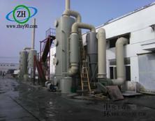 广西贺州含氟矿物氟化物废气处理装置的案例分析。