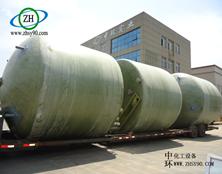江苏常州玻璃钢反应釜的案例分析。