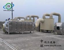 【案例分享】——绍兴喷涂废气吸收装置