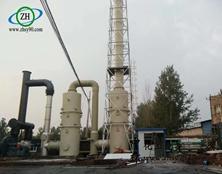 【案例分享】——山东滨州含氟化物、二氧化硫以及粉尘废气处理设备。