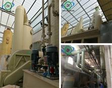 【案例分享】氯化氢(盘条酸洗)废气处理装置的使用情况