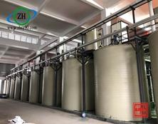 【工程案例】杭州中环PPH储罐在三元材料行业中的应用