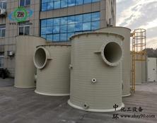 【工程案例】杭州中环PPH碱洗塔在新能源行业中的应用