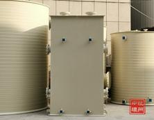 【工程案例】杭州中环PPH有机废气塔在医药行业中的应用