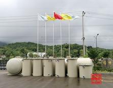 【工程案例】杭州中环PPH废液罐在新能源行业中的应用